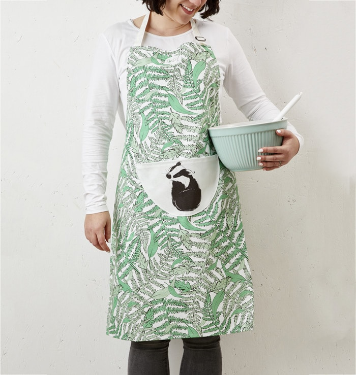 Mr Badger Apron