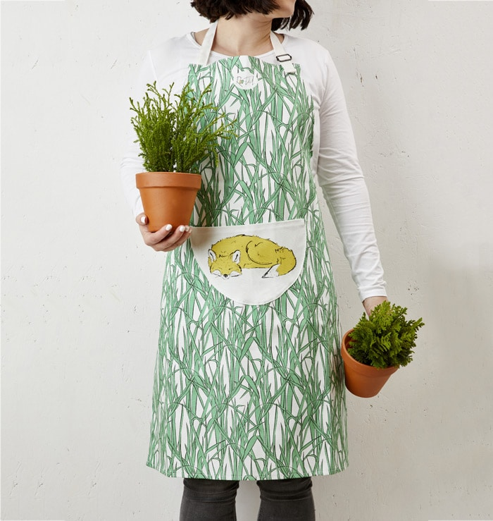 Mr Fox Apron