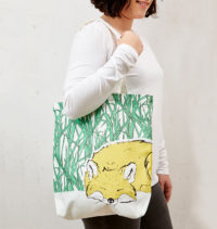 Mr Fox Tote Bag