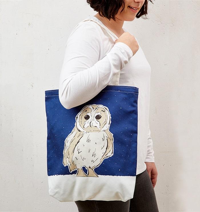 Mr Owl Tote Bag