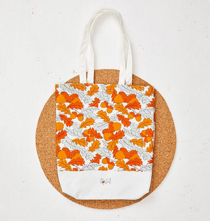 Mr Squirrel Tote Bag