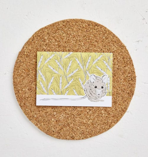 Mr Mousey Greeting Card