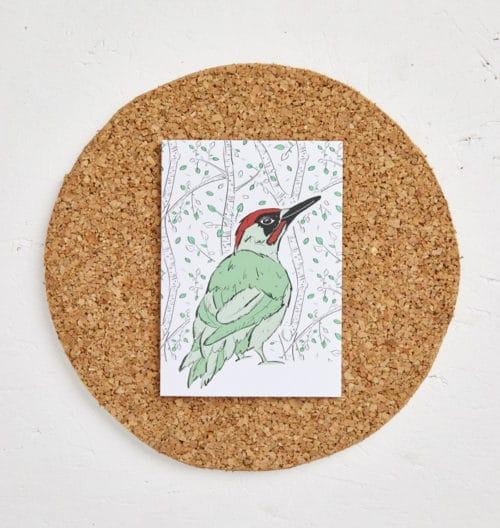 Mr Woodpecker Greeting Card