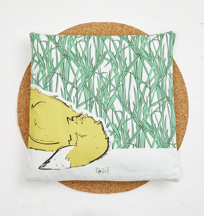 Mr Fox Cushion Cover