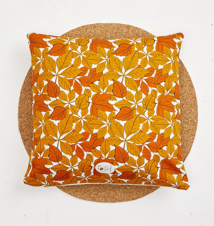 Mr Hedgehog Cushion Cover