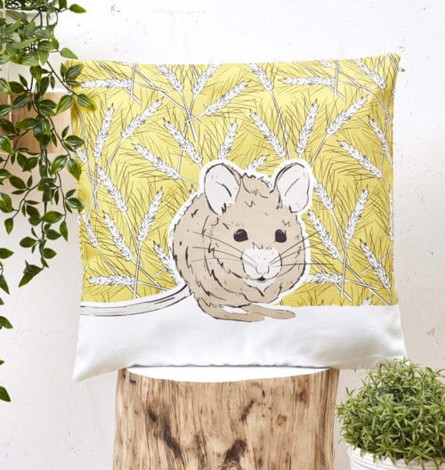 Mr Mousey Cushion Cover