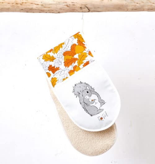 Mr Squirrel Oven Gloves