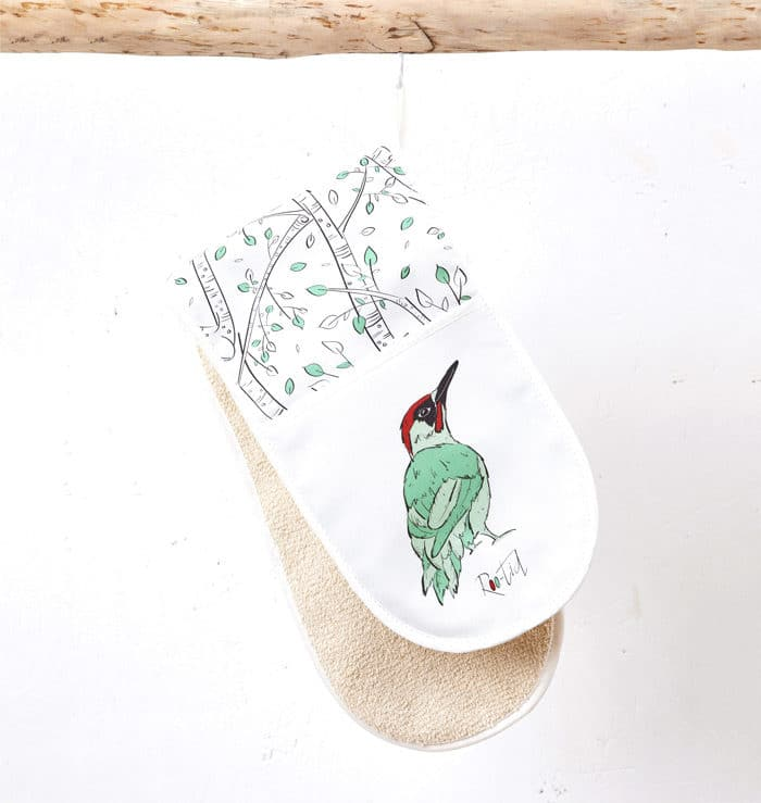 Mr Woodpecker Oven Gloves