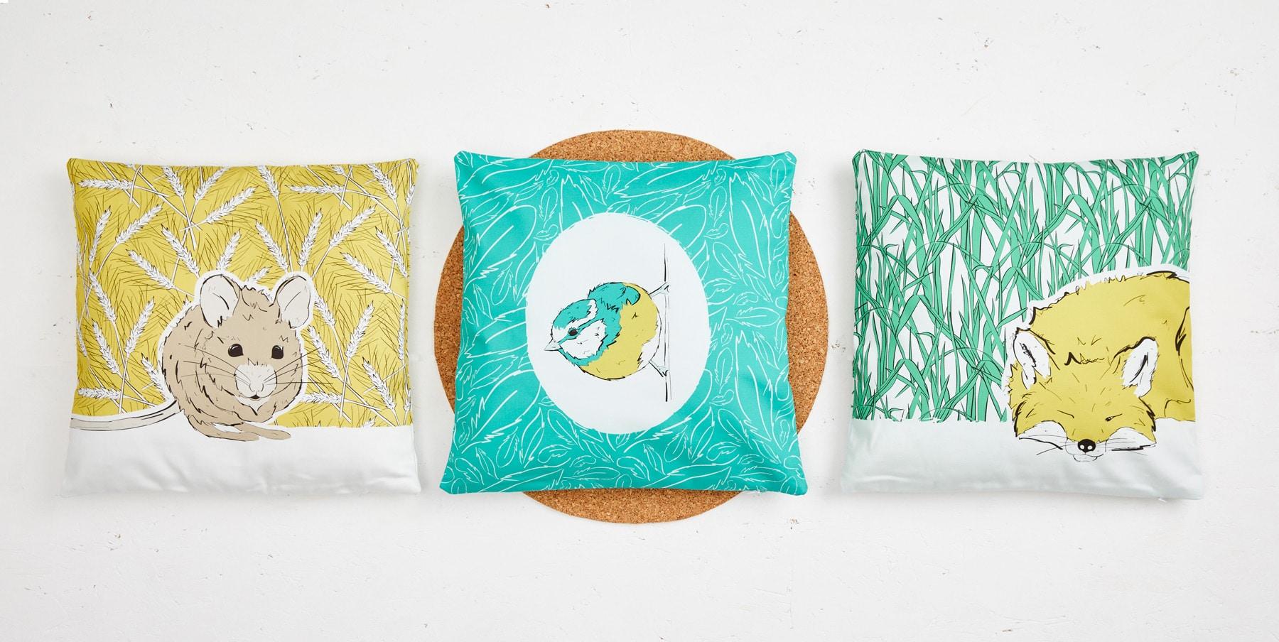 Roo-tid Cushion Covers