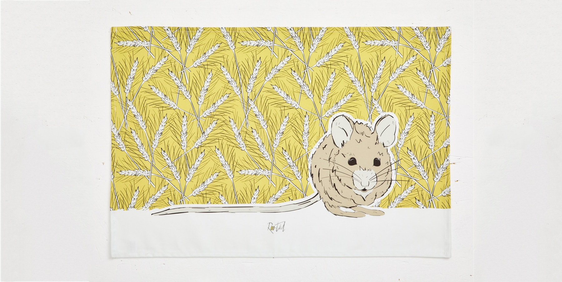 Mr Mousey Tea Towel