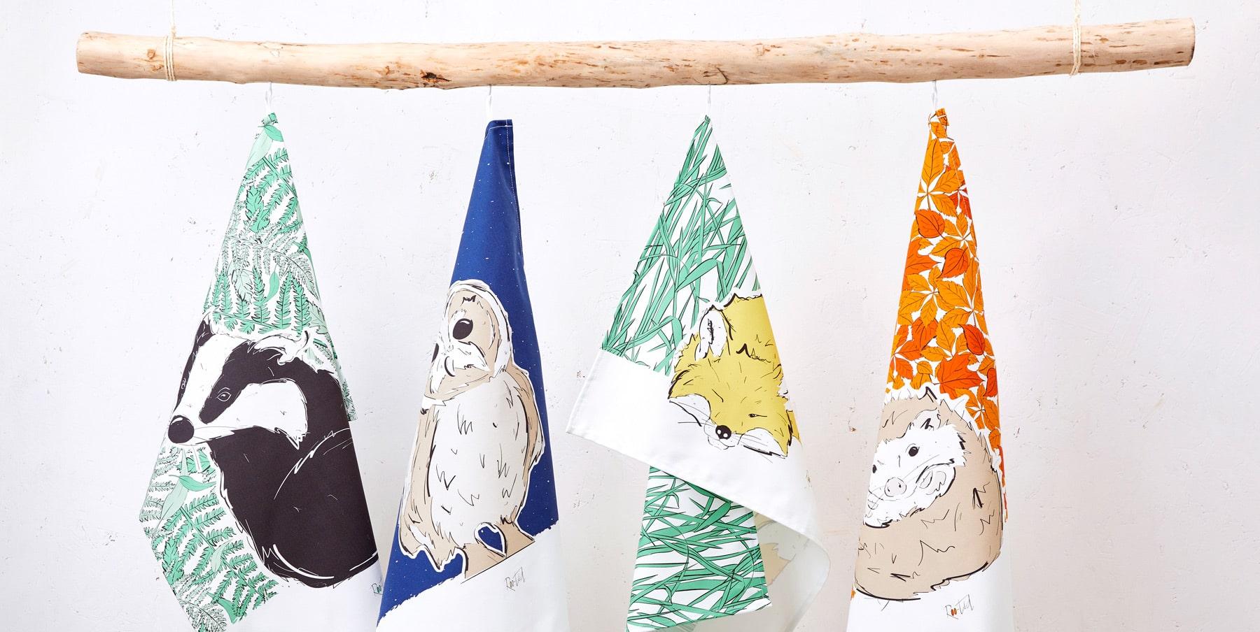 Roo-tid Tea Towels