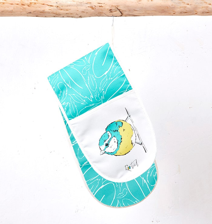 Roo-tid Blue Tit Oven Gloves
