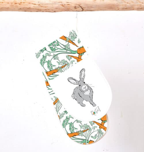 Roo-tid Rabbit Oven Gloves