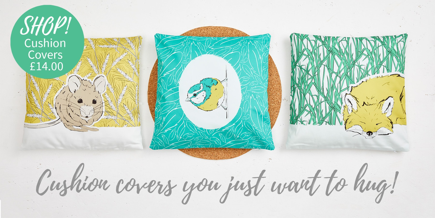 Roo-tid Cushion Covers